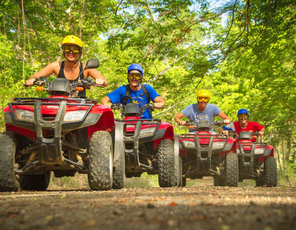 ATV and Cenotes Adventure